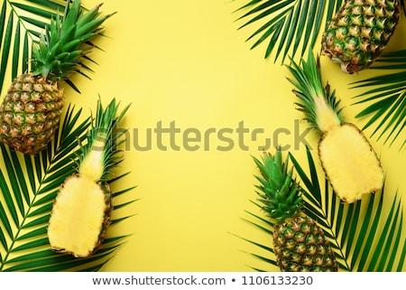 Closeup of a pineapple Stock photo © jakatics