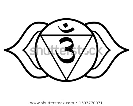 chakra · zeven · een · indian · yoga · lotus - stockfoto © hpkalyani