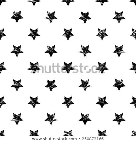 グランジ ベクトル 星 デザイン コレクション 星 ストックフォト © squarelogo