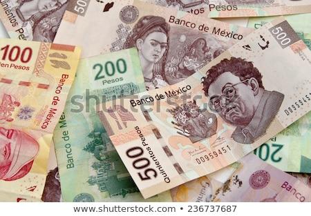 kép · mexikói · 500 · 100 · valuta · számla - stock fotó © javiercorrea15