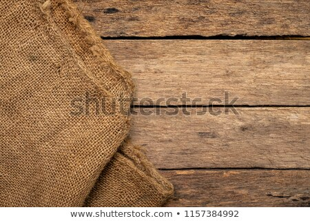 Jute and old wood Stock photo © stevanovicigor