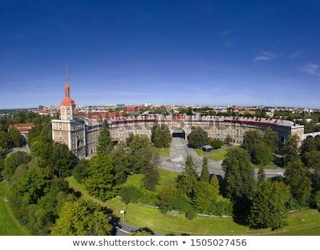 Mooie stad toren werk reizen stedelijke Stockfoto © jonnysek