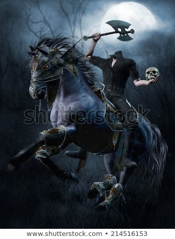 headless horseman Stock photo © sharpner
