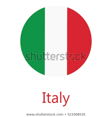 ステッカー イタリア フラグ eps10 星 ボタン ストックフォト © SolanD
