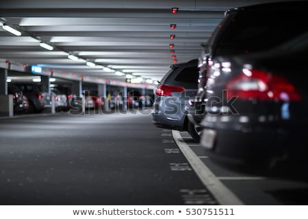 métro · parking · garage · Shopping · centre · intérieur - photo stock © abbphoto