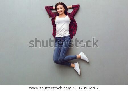 woman lying stock photo © elwynn