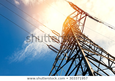 High Tension Electrical Wires Stock photo © wolterk