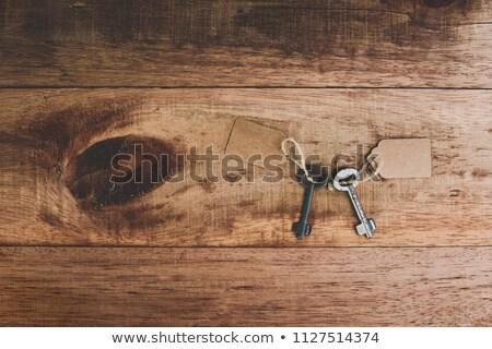 古い さびた 鉄 白 背景 レトロな ストックフォト © Roka