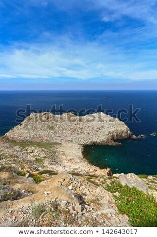 島 水 自然 岩 休日 海岸 ストックフォト © Antonio-S