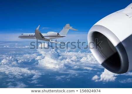Two jet planes are going same direction Stock photo © moses