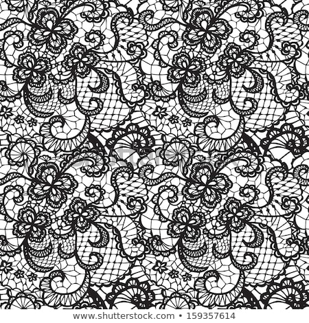 lace pattern, vector Stock photo © beaubelle