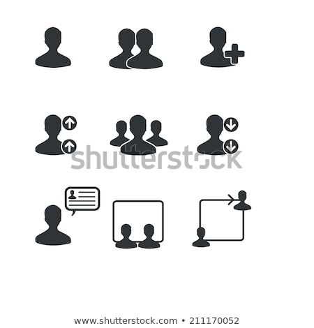 Stock photo: Adding Friends in Circle