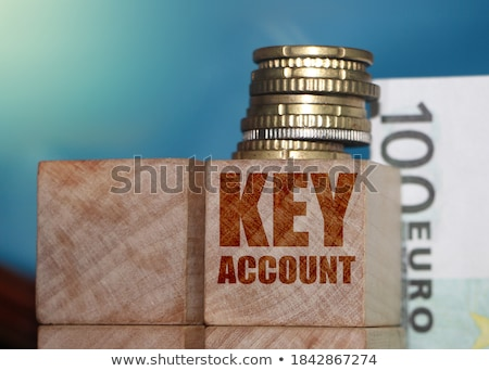 евро слово ключами четыре черный клавиатура Сток-фото © BigKnell