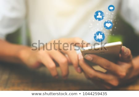 laptop · smartphone · communiceren · draadloze · technologie · business · telefoon - stockfoto © burakowski