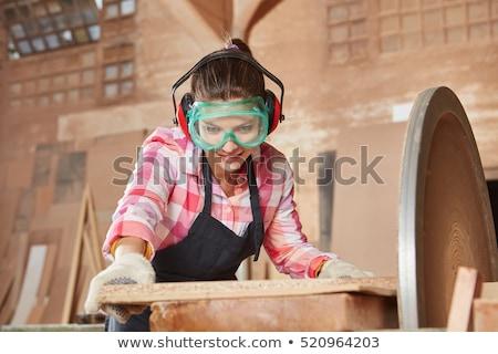 Grinding machine of a carpenter Stock photo © Kzenon