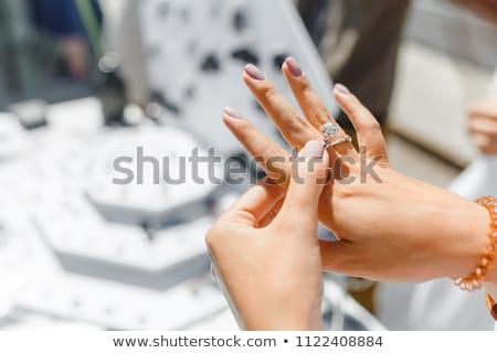 metal · feminino · colar · rústico · moda - foto stock © andreypopov