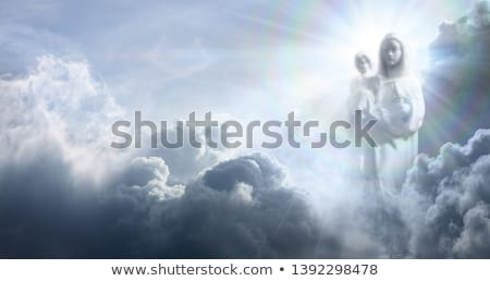 Statua vergine Gesù bambino facciata westminster Foto d'archivio © alessandro0770