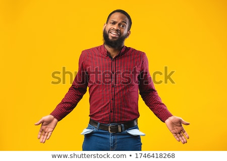 bearded man with hands in his pockets  Stock photo © feedough