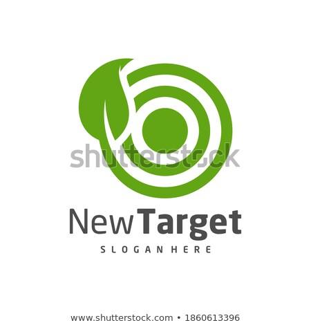 Ecologico target 3D generato foto grafico Foto d'archivio © flipfine