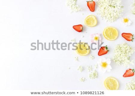 Stock photo: beverage elderflower