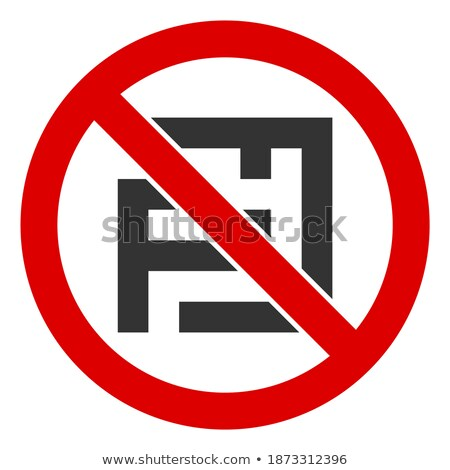 restricted icon in puzzle Stock photo © Istanbul2009