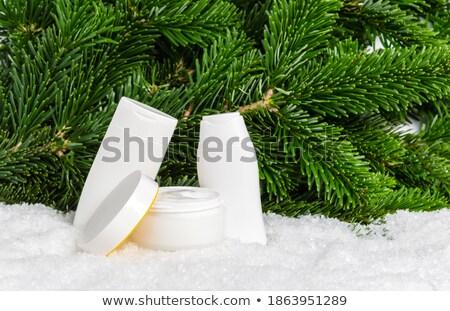 garrafa · Óleo · protetor · solar · quente · areia · da · praia · verão - foto stock © stevanovicigor
