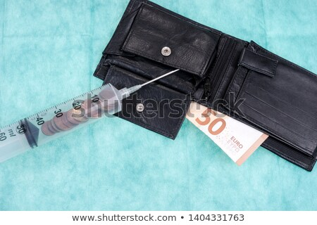 the euro syringe Stock photo © flipfine