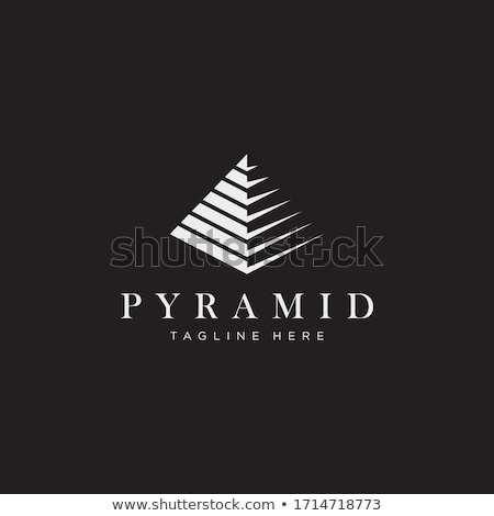 Pyramid Logo Stock photo © fenton