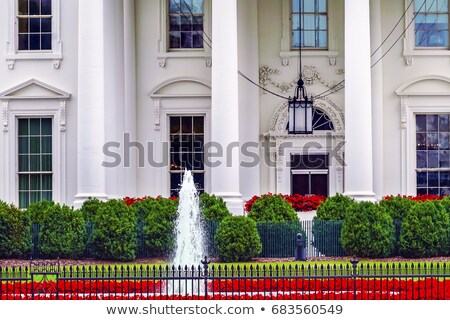 Witte huis nacht Pennsylvania Washington DC presidents- hek Stockfoto © billperry