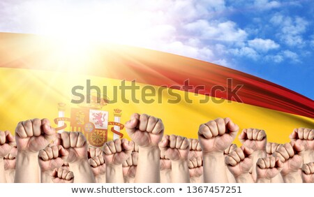Spain Labour movement, workers union strike Stock photo © stevanovicigor
