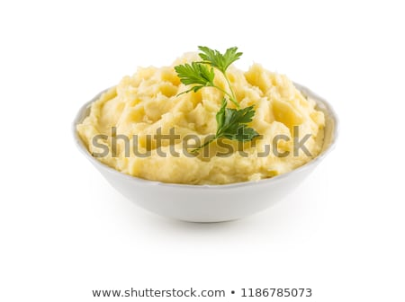 Stock photo: mashed potato