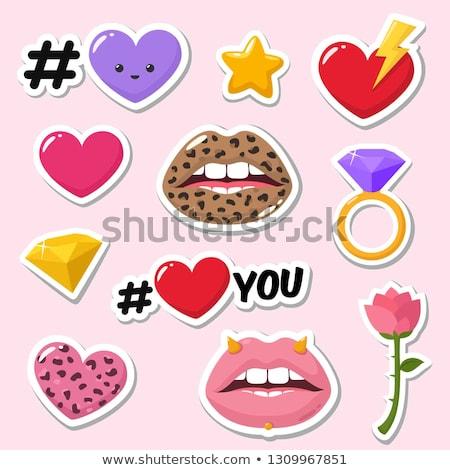 Stock photo: Crystal heart