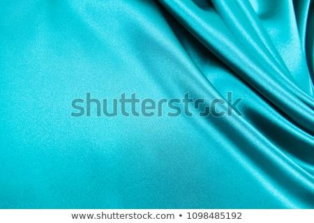 Beautiful trendy blue Silk Stock photo © ozaiachin