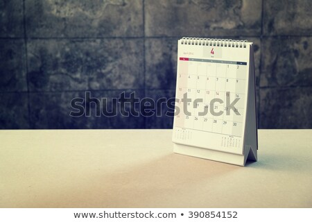 April Calendar Blank Page Stock photo © stevanovicigor