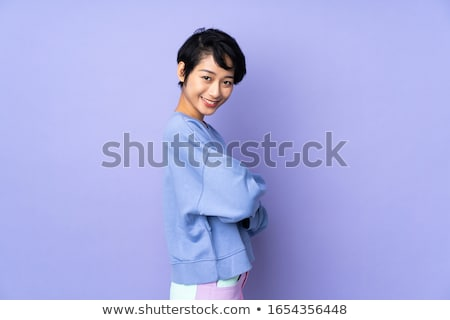attractive young vietnamese woman stock photo © smithore