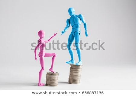 Male female gender scales Stock photo © Krisdog