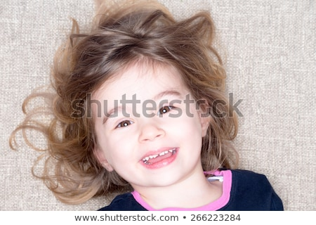 pretty vivacious three year old little girl stock photo © ozgur