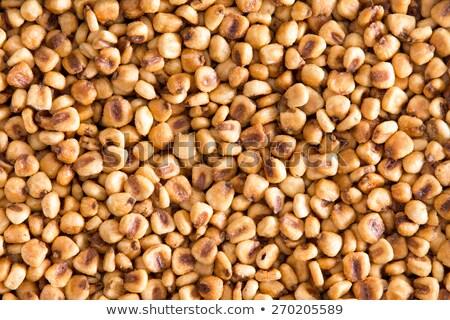 Geroosterd gezouten mais noten full frame Stockfoto © ozgur