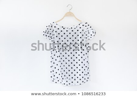 Femenino blusa aislado blanco sexy Foto stock © gsermek