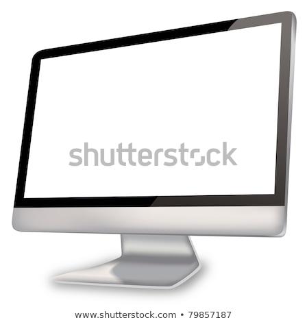 összetett kép képernyő szoba nagy ablak Stock fotó © wavebreak_media