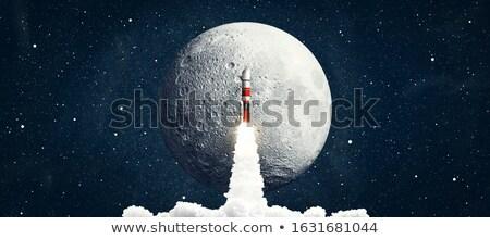 cartoon · rakietowe · przestrzeni · statku · ilustracja · cute - zdjęcia stock © netkov1