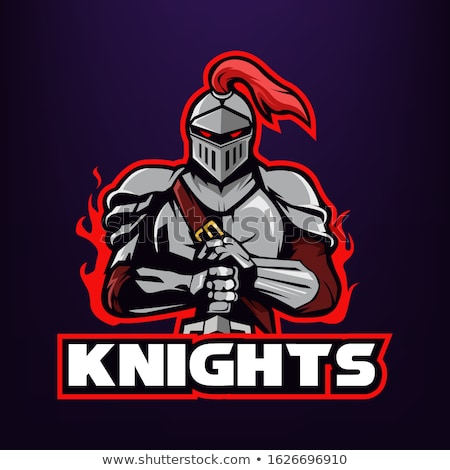 knightly mascot stock photo © sharpner