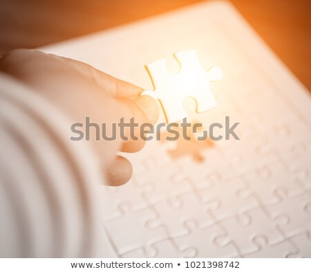 Pay - Puzzle on the Place of Missing Pieces. Stock photo © tashatuvango