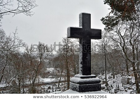 Stock photo: Famous old Rasu cemetery in Vilnius, Lithuania