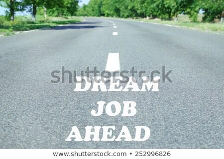 Recrutamento agência calendário escritório papel Foto stock © fuzzbones0