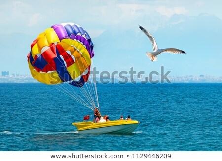 paraseilling stock photo © calek