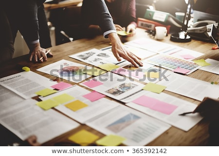 Business idea and vision Stock photo © stevanovicigor