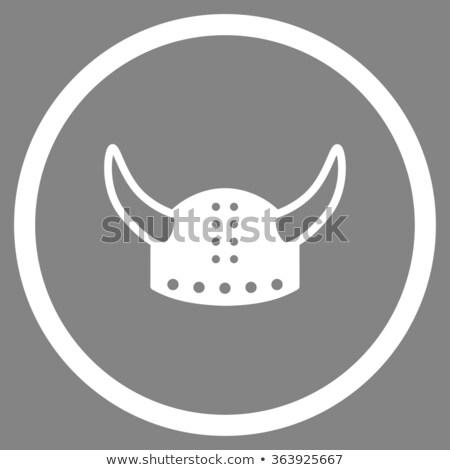 средневековых Knight топор серый мощный броня Сток-фото © igor_shmel