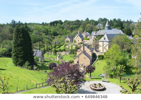 Landscape French Limousin Stock photo © ivonnewierink