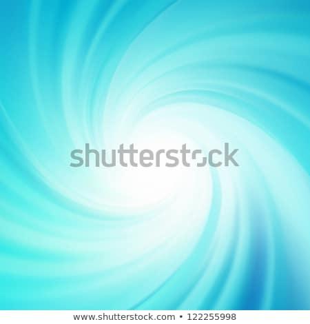 Blue rotation water. EPS 8 Stock photo © beholdereye